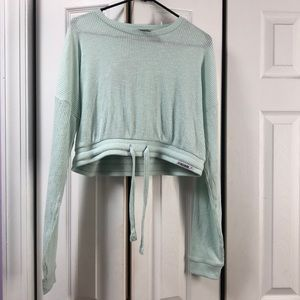 Gymshark Relaxed Sweater - Washed Green